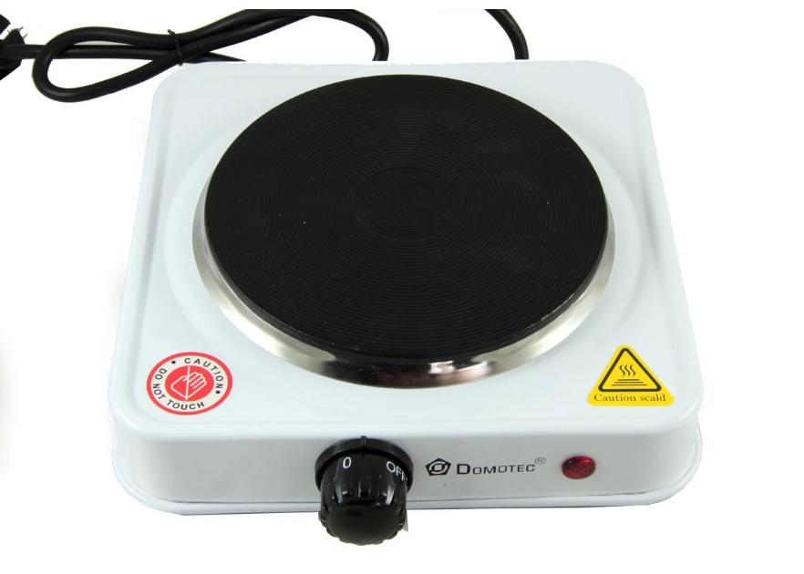 Електроплита Domotec MS-5821 плита настільна , диск