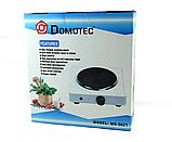 Електроплита Domotec MS-5821 плита настільна , диск, фото 3