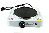 Електроплита Domotec MS-5821 плита настільна , диск, фото 5