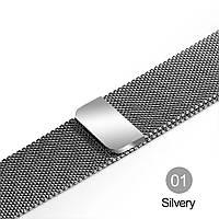 Браслет Миланская петля для Apple Watch 38/40 mm серый