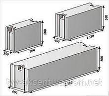 Фундаментні залізобетонні блоки ФБС 12-6-6