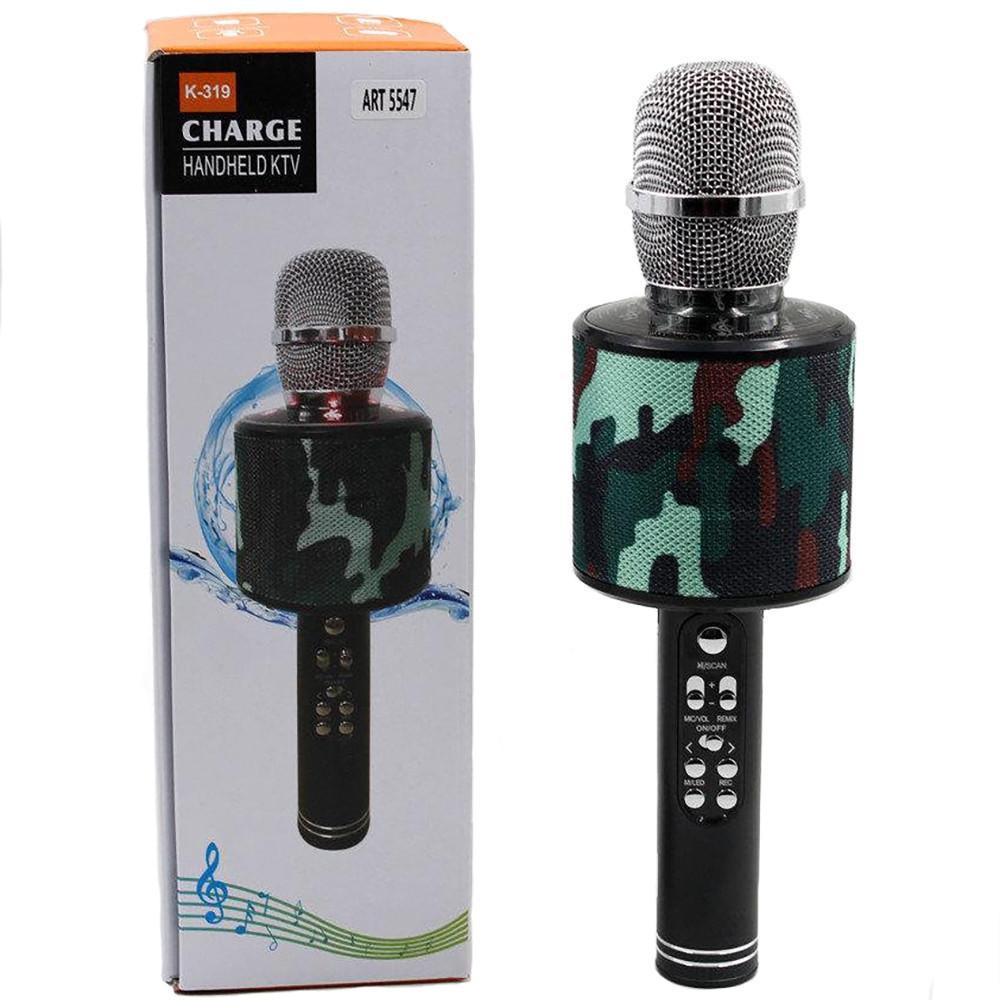 Беспроводные микрофоны для караоке DM Karaoke K319, Портативный микрофон, USB-микрофон