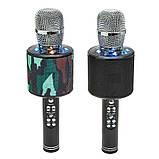 Беспроводные микрофоны для караоке DM Karaoke K319, Портативный микрофон, USB-микрофон, фото 9