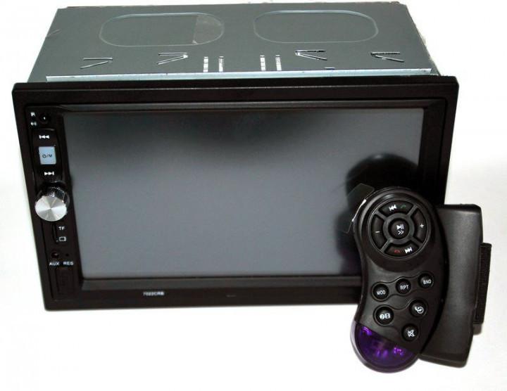 Автомагнітола з USB-вхід 2din з ауксом, камерою заднього виду, з пультом на кермо 7022CRB BT екраном 7 дюймів