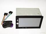 Автомагнітола з USB-вхід 2din з ауксом, камерою заднього виду, з пультом на кермо 7022CRB BT екраном 7 дюймів, фото 3