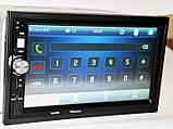 Автомагнітола з USB-вхід 2din з ауксом, камерою заднього виду, з пультом на кермо 7022CRB BT екраном 7 дюймів, фото 10