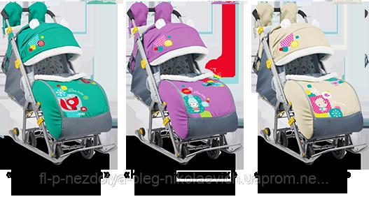 Санки-коляски Ника Детям 7-2