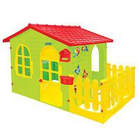 Домик игровой детский пластиковый садовый Mochtoys 12243