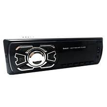 Автомагнітола з ауксом MP3 1 Din, з годинником, usb і bluetooth 1408BT + пульт, Автомобільний FM приймач