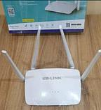 Wi-Fi роутер LB-Link BL-WR450H 2,4 GHz 300Mbps, дводіапазонний бездротової мережі маршрутизатор для дому, фото 8