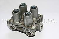Клапан защитный 4-х контурный пневмосистемы тормозов (613 EI,613 EII,613 EIII) Sorl