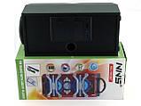 Аккумуляторная мобильная акустическая система NNS-1503BT, портативная акустика с микрофоном для караоке, фото 6