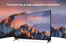 """Дешевий 3d LED Телевізор з цифровим тюнером DVB-T2 tv smart 55"""" 1215*740(FHD) Android 9.0"""
