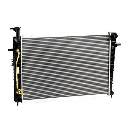 Радиатор охлаждения Tucson/Sportage (04-) 2.0/2.7 АКПП/МКПП, фото 2