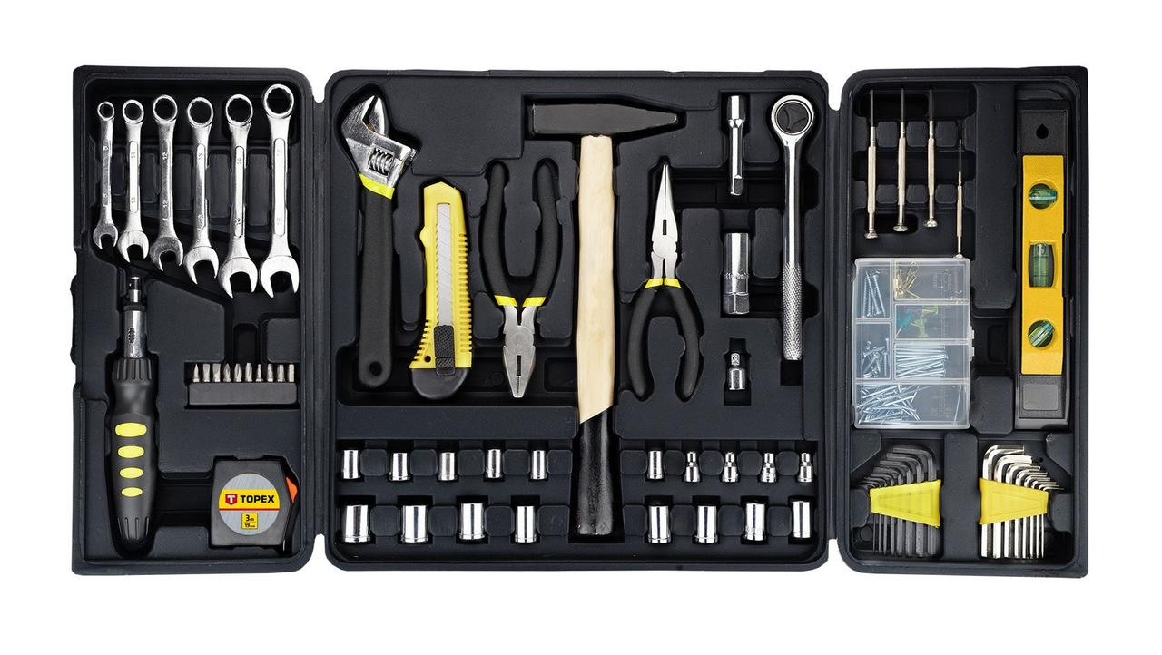 Набор инструментов TOPEX 38D215, 135 элементов
