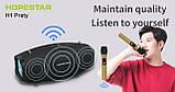 Вологостійка велика потужна портативна bluetooth колонка hopestar з мікрофоном, USB, SD, FM радіо H1 Party, фото 8
