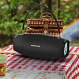Вологостійка велика потужна портативна bluetooth колонка hopestar з мікрофоном, USB, SD, FM радіо H1 Party, фото 9