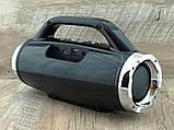 Небольшая портативная беспроводная колонка Atlanfa 1829BT с радио, USB, SD, Bluetooth, дисплеем, сабвуфером, фото 5