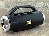 Небольшая портативная беспроводная колонка Atlanfa 1829BT с радио, USB, SD, Bluetooth, дисплеем, сабвуфером, фото 10
