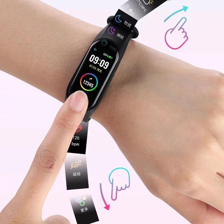 Спортивні розумні смарт-годинник браслет M5, Фітнес-трекер Smart Watch, Крокомір, Тиск, Пульс