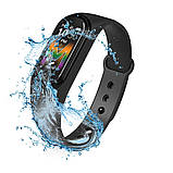 Спортивні розумні смарт-годинник браслет M5, Фітнес-трекер Smart Watch, Крокомір, Тиск, Пульс, фото 2