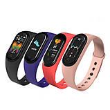 Спортивні розумні смарт-годинник браслет M5, Фітнес-трекер Smart Watch, Крокомір, Тиск, Пульс, фото 3
