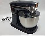 Міксер планетарний, потужний кухонний комбайн DSP KM3031 з електричною м'ясорубкою, тестомесом, блендером 3 в, фото 5
