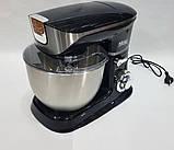Міксер планетарний, потужний кухонний комбайн DSP KM3031 з електричною м'ясорубкою, тестомесом, блендером 3 в, фото 7