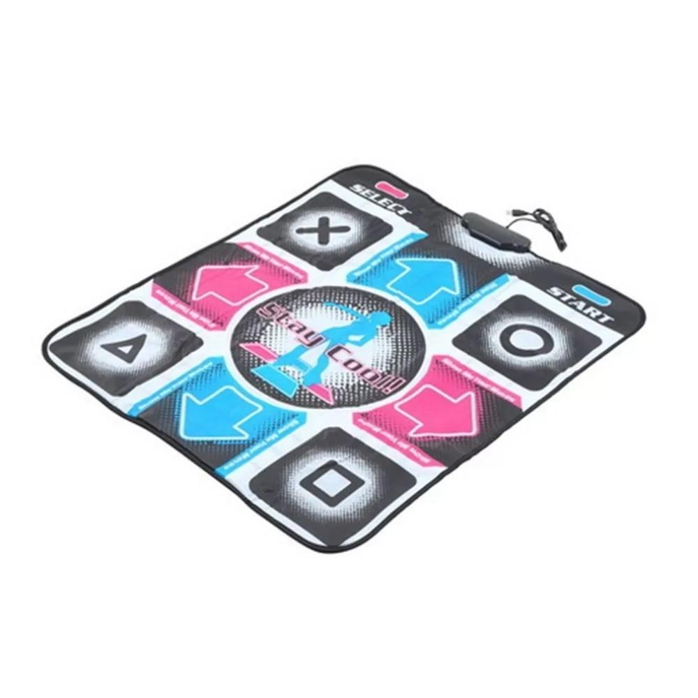 Ігровий танцювальний килимок з usb для танців до ПК комп'ютера телевізору DANCE MAT для дітей і дорослих