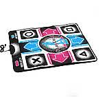 Ігровий танцювальний килимок з usb для танців до ПК комп'ютера телевізору DANCE MAT для дітей і дорослих, фото 2