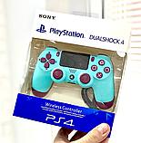 Беспроводной геймпад игровой джойстик с вибрацией USB Bluetooth Sony PlayStation Dualshock 4 V2 8 цветов, фото 5