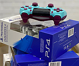 Беспроводной геймпад игровой джойстик с вибрацией USB Bluetooth Sony PlayStation Dualshock 4 V2 8 цветов, фото 9