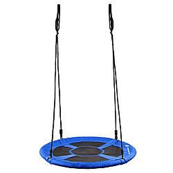 Качели-гнездо Springos синий 90 см NS008 SKL41-252499