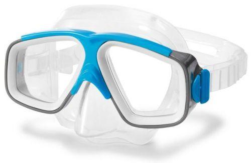 Детская маска для плавания от 8 лет, Surf Rider Masks, голубая, Intex