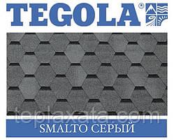 Черепиця TEGOLA (Top-Shingle) Smalto Сірий