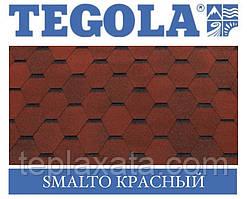 Черепиця TEGOLA (Top-Shingle) Smalto Червоний
