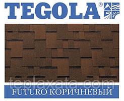Черепиця TEGOLA (Top-Shingle) Futuro Коричневий