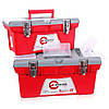 Комплект ящиків для інструментів з металевим замком INTERTOOL BX-0502