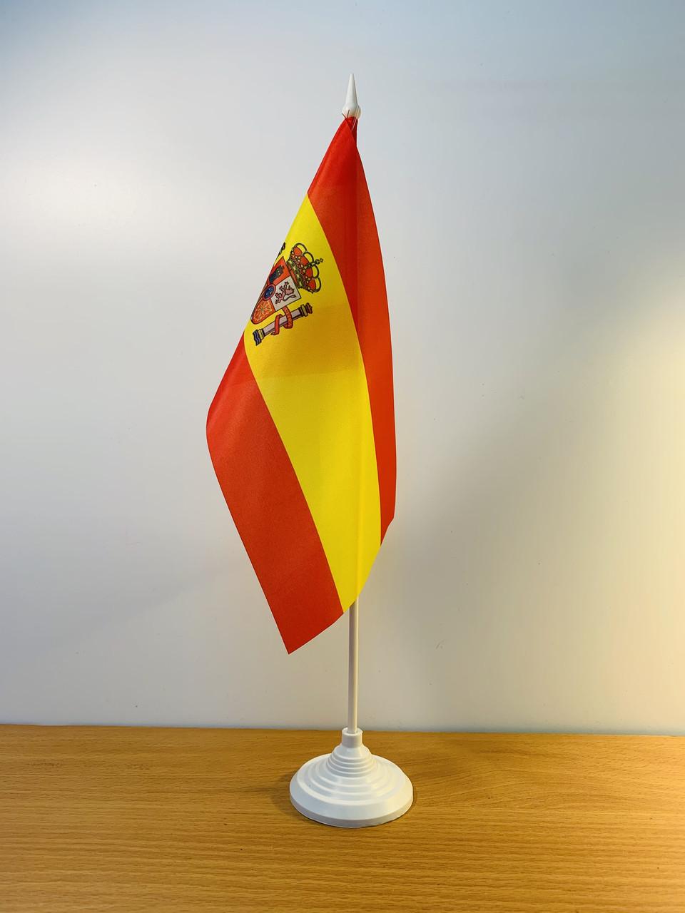 "Флажок ""Испания"" на подставке |  Флажки Европы |"