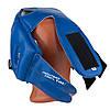 Боксерский шлем тренировочный PowerPlay 3084 cиний M, фото 6