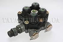 Клапан четырехконтурный защитный пневмосистемы тормозов (613 EIII, 1618) KNORR-BREMSE