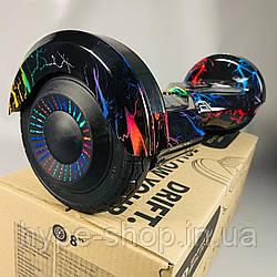 Гироборд Smart Balance 8 дюймів колір Кольорова блискавка