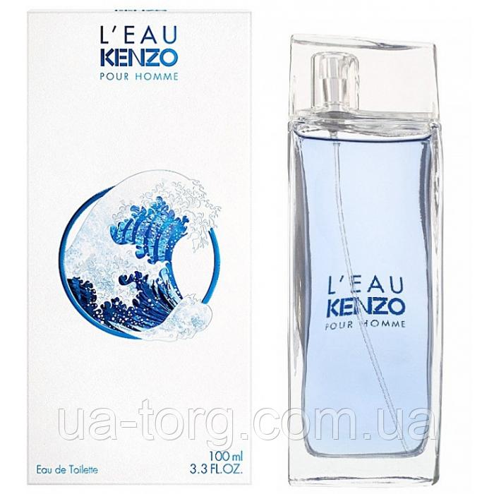 Чоловіча туалетна вода Kenzo Kenzo L'eau Pour Homme 100 мл (Euro)