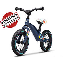 Беговел - велобег Lionelo Bart Air 12 дюймов надувные колеса