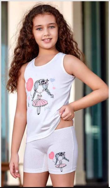 Комплект майка и шорты для девочки BERRAK  (Турция) 5566