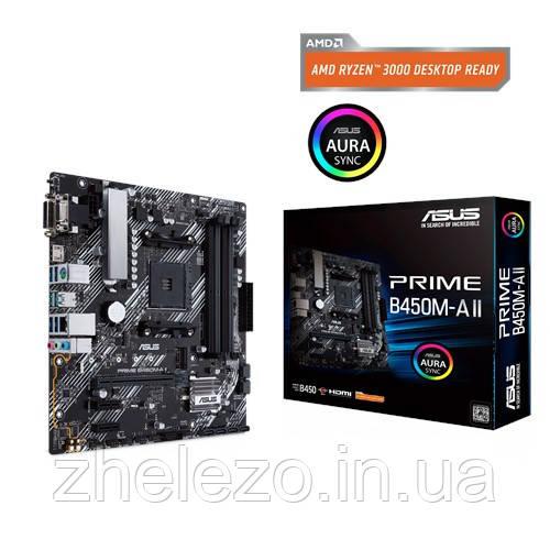 Материнська плата Asus Prime B450M-A II Socket AM4
