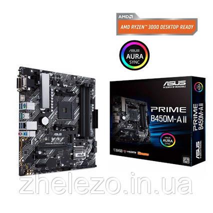 Материнська плата Asus Prime B450M-A II Socket AM4, фото 2