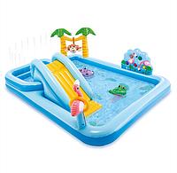 Детский Игровой центр 57161 Джунгли, 257-216-84см, бассейн, горка