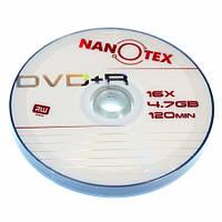 Чистый диск NANOTEX DVD+R 16x bulk10