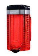 Мигалка задня Infini TRON I-280R-Black, 360', 50 діодів, 7 режимів, USB кабель, с крепл.